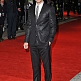 We took a shine to the face of Givenchy's sleek Riccardo Tisci suit at the UK premiere of In Time.