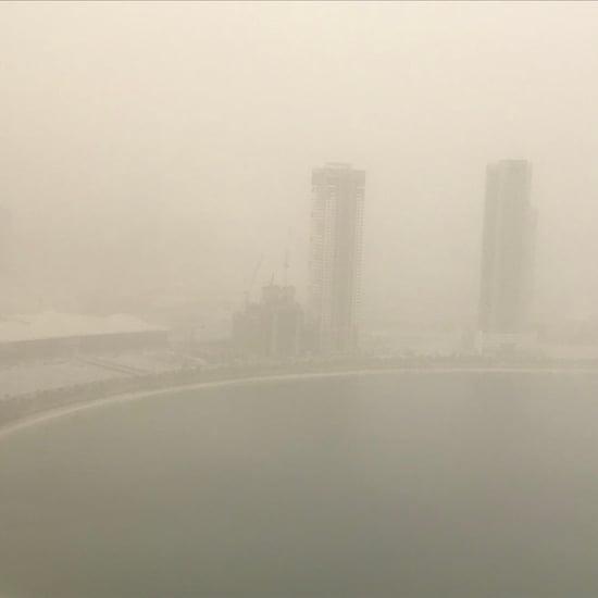 Dubai Sandstorm Funny Tweets   May 2018