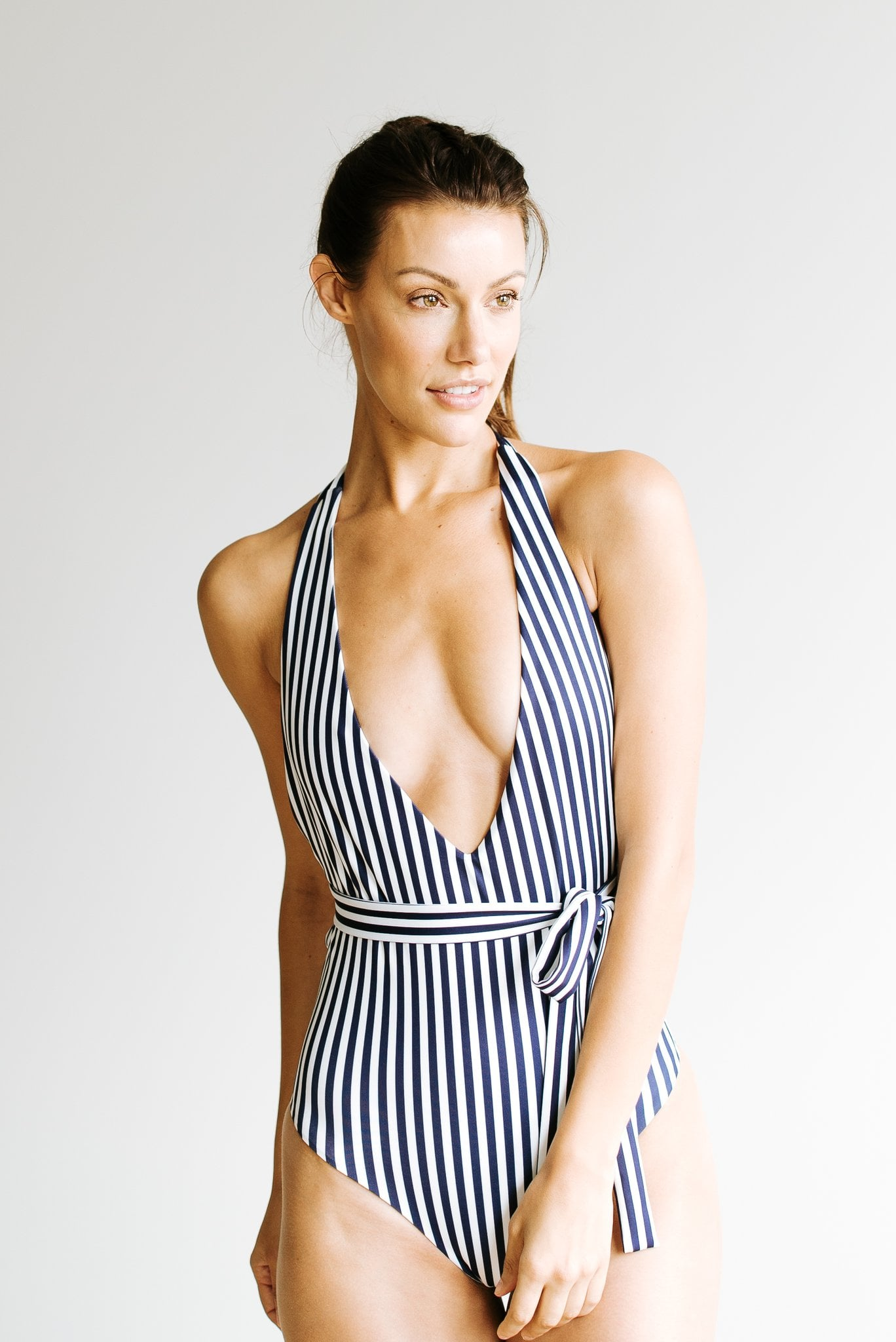 Belted Swimsuit Review Popsugar Fashion