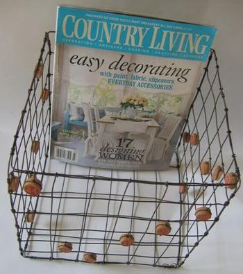 Etsy Find: De Beaux Souvenirs Bingo Basket