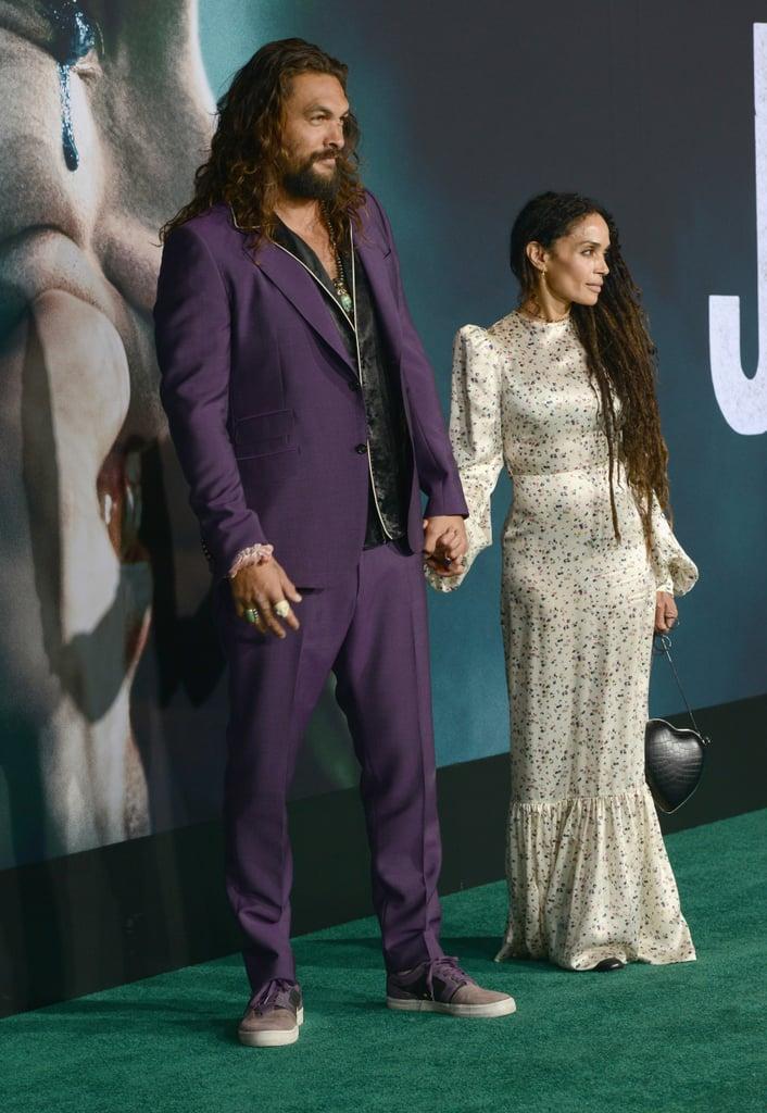 Jason Momoa and Lisa Bonet at Joker Premiere Pictures