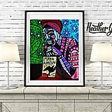 Maya Angelou Art Print Poster