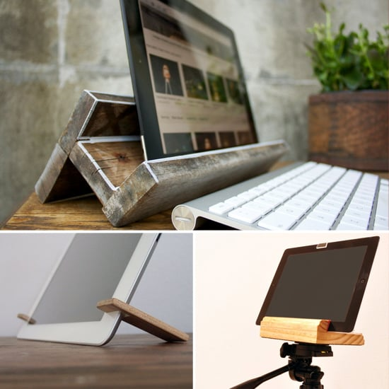 Wooden iPad Stands