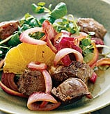 Fast & Easy Dinner: Steak Salad With Balsamic Red Onions