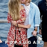 Ed Sheeran and Cherry Seaborn Kissing in Ibiza June 2019