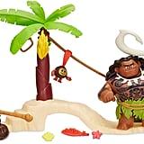 Disney Moana Maui the Demigod's Kakamora Adventure Playset