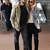 Kate Bosworth and Michael Polish walked side-by-side in New Orleans.
