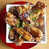 Hoisin-Glazed Baked Chicken Wings