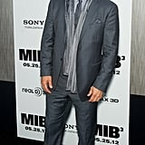 Josh Brolin had a laugh at the Men in Black III premiere in NYC.
