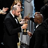 And Horowitz graciously handed over the Oscar to Barry Jenkins without a fight.