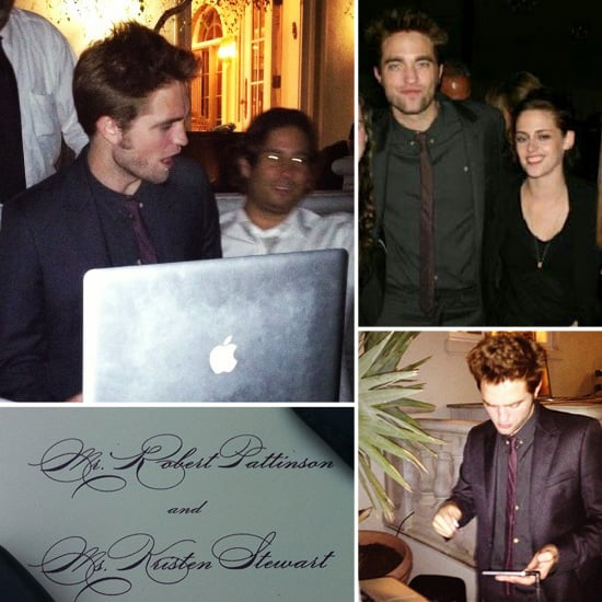 Robert Pattinson and Kristen Stewart Are Wedding Dates For a Friend's I Dos!