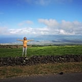 "The musicians treated themselves to wide open spaces in Hawaii in late March. ""Maui, I love you. #bellysgettingbigger!!"" she wrote."