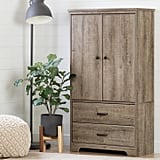 Versa Two Door Armoire With Drawers