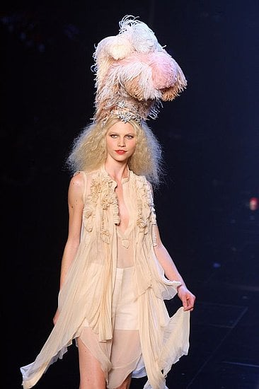 Feathers: Still here and still used as hair accessories--feathers remain a festive and textural statement.