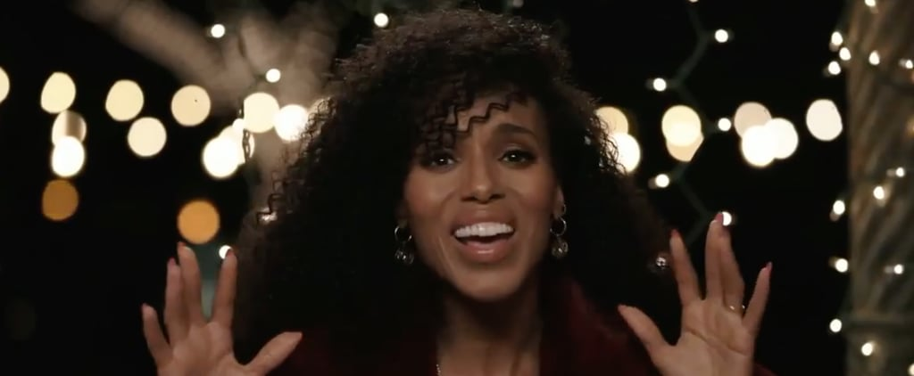 See Kerry Washington's Disney Holiday Singalong Performance