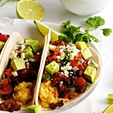 Mexican Breakfast Tacos With Chorizo and Egg