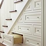 Hidden Stair Storage