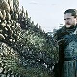 Jon Snow and Rhaegal