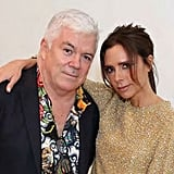 """Thank you to my friend @timblanks Always good catch up and talk fashion! X vb @britishfashioncouncil #fashiontrust,"" Victoria wrote."