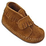 Minnetonka Infant Velcro-Strap Booties