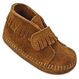 Minnetonka Infant Velcro-Strap Booties