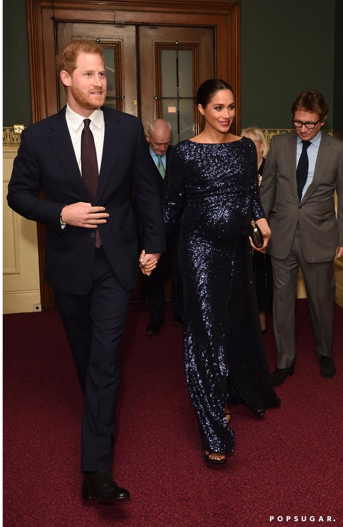 Prince Harry and Meghan Markle's Ultraglam Date Night Will Leave You Starry-Eyed
