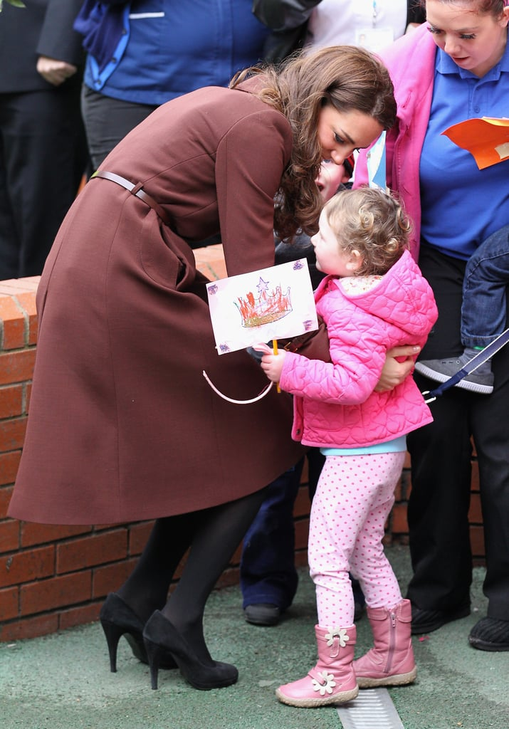 Kate Middleton went to Liverpool.