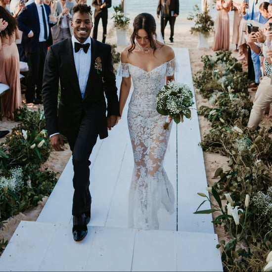 Shanina Shaik's Wedding Dress
