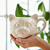 Plum & Bow Cat Face Mug ($12)