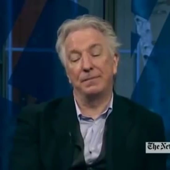 Best Alan Rickman Interview Response | Video