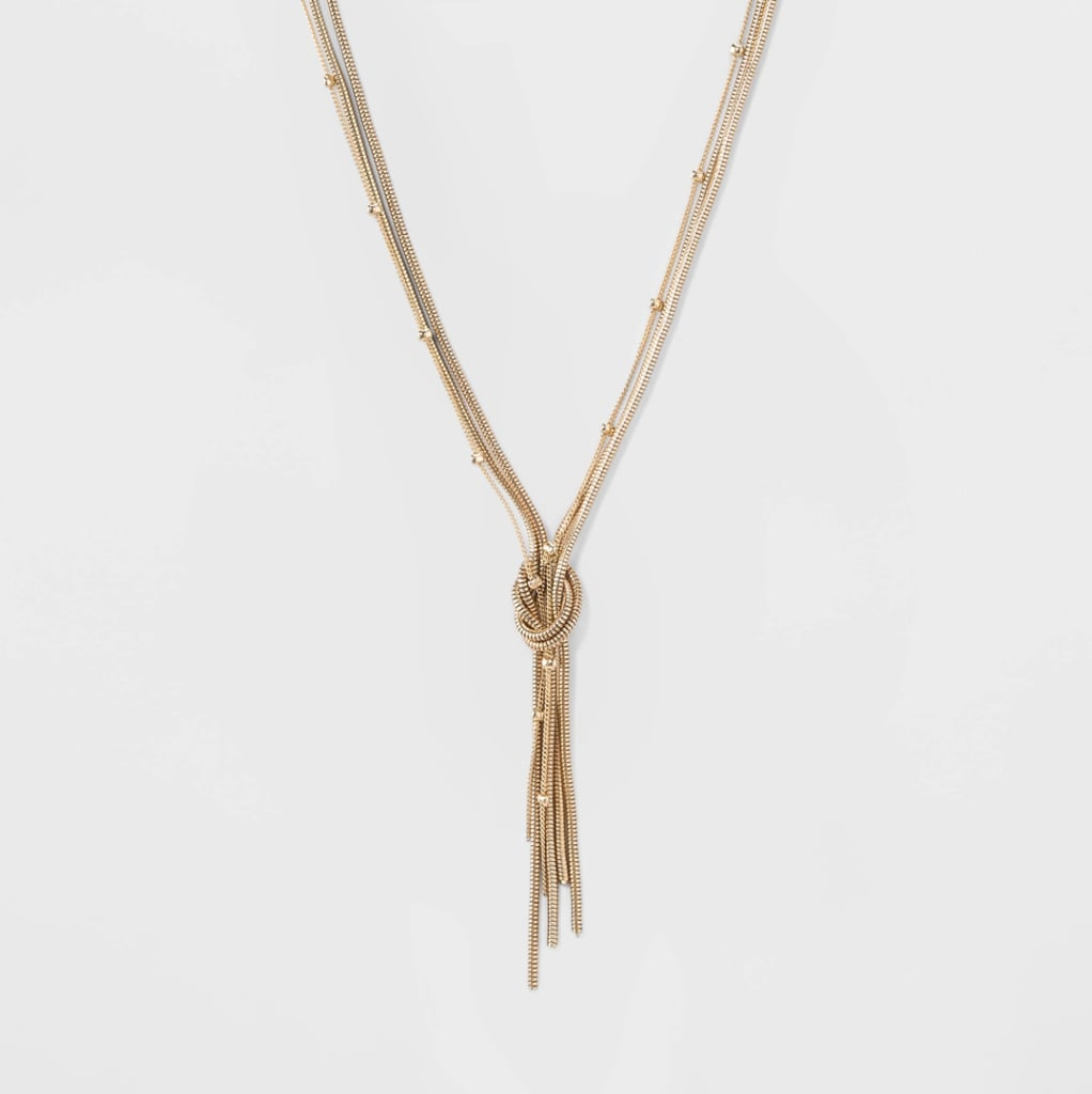 Sugarfix by BaubleBar Knotted Lariat Necklace | Target Fall