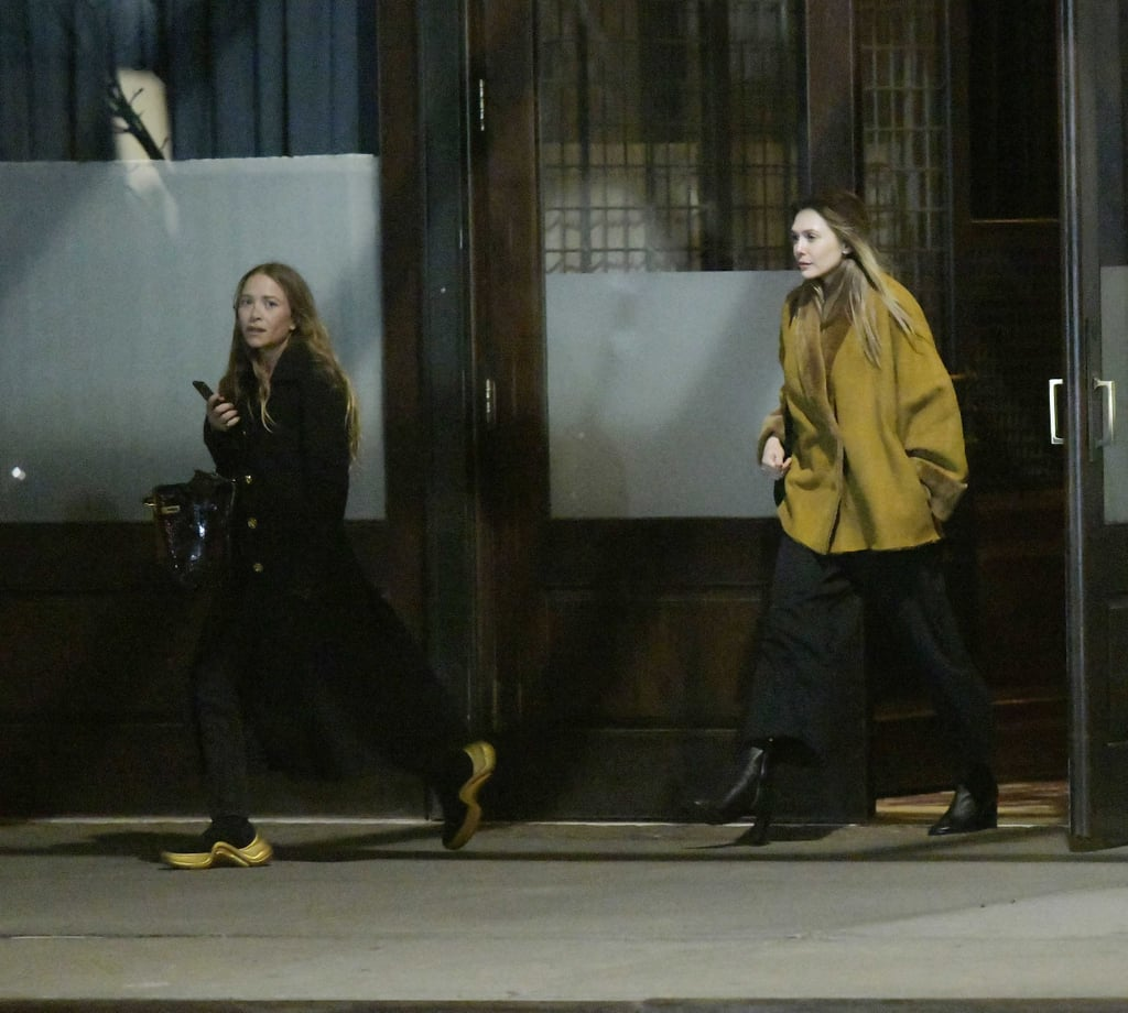 Mary-Kate Olsen Wearing Louis Vuitton Sneakers