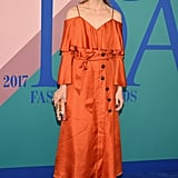 Olivia Palermo's Banana Republic Dress at CFDA Awards 2017