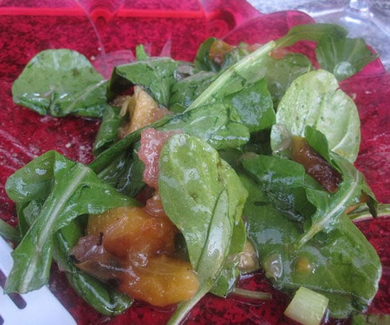 Recipe of the Day: Grilled Peach Salad With Grapefruit Vinaigrette