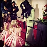 Sophia Grace and Rosie met Katy Perry on the red carpet. Source: Instagram user sophiagrace_rosie