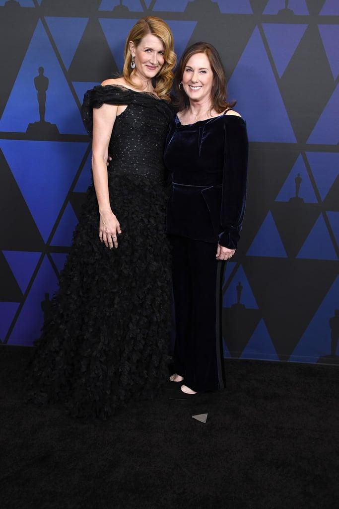 Laura Dern and Kathleen Kennedy