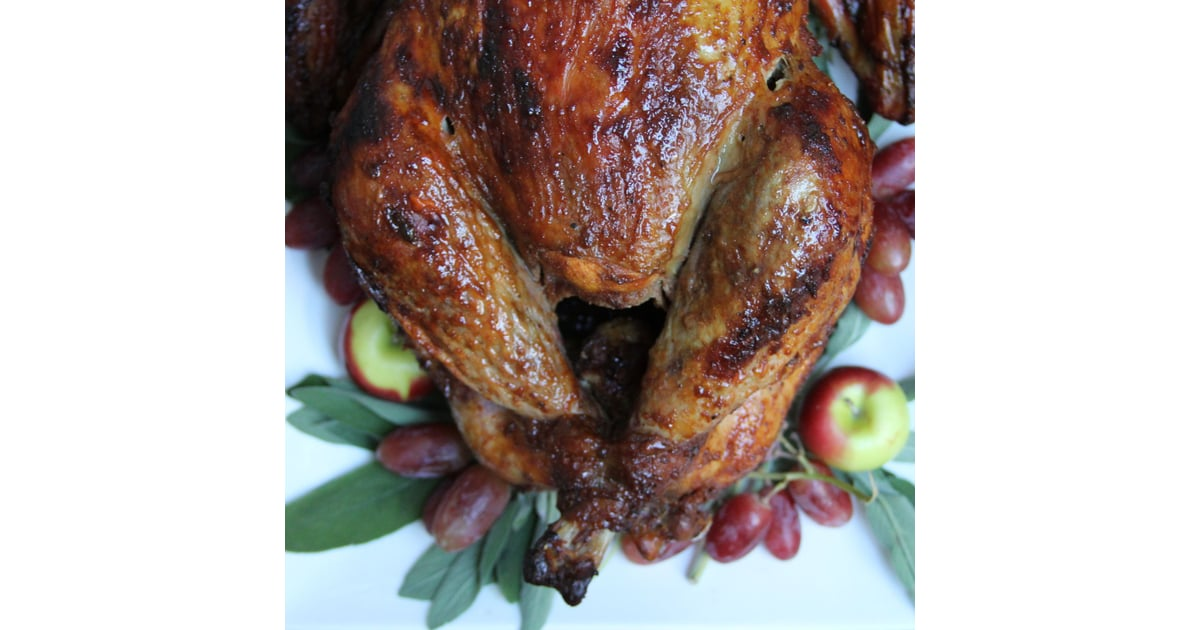 Bourbon-Glazed, Spice-Rubbed Turkey | POPSUGAR Food