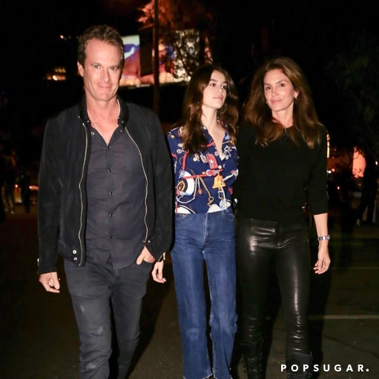 Kaia Gerber and Cindy Crawford Wearing Black Boots