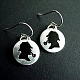 Etched Sherlock Earrings ($50)