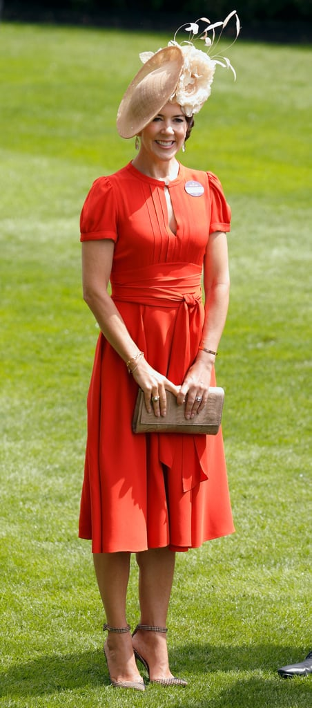 Princess Mary's Wrap Dress Is the Summer Look That Never Goes Out of Style