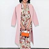 Attending the F/W 2019 Tory Burch show in a head-to-toe look from the brand.