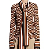 Michael Kors Collection Geometric-Print Scarf Blouse ($1,295)