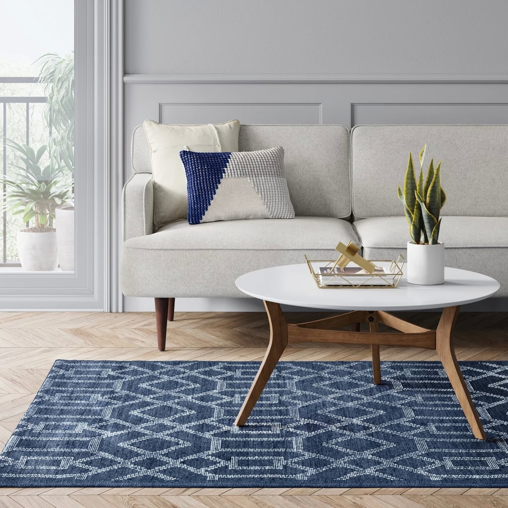Tapestry Tufted Geometric Rug