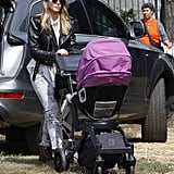 Jessica Alba and Haven Warren: Orbit Baby G2