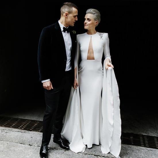 Modern Australian Warehouse Wedding