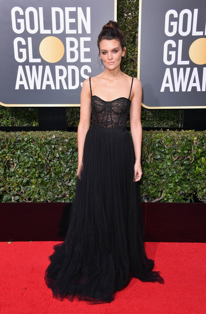 Frankie Shaw Sneakers at the 2018 Golden Globes