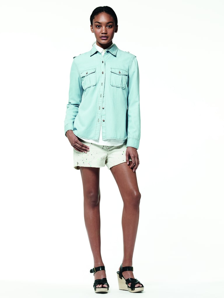 How do you feel about the turquoise-shaded denim making a resurgence for Summer?