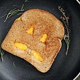 Jack-o'-Lantern Grilled Cheese