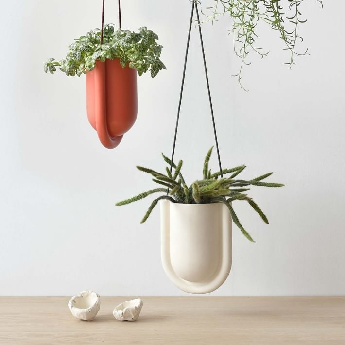 West Elm Misewell Portico Hanging Planter