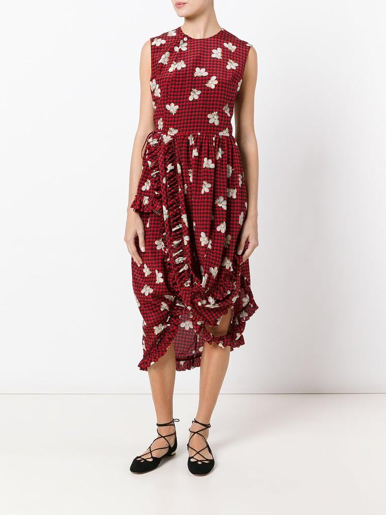 Simone Rocha Checked Dress